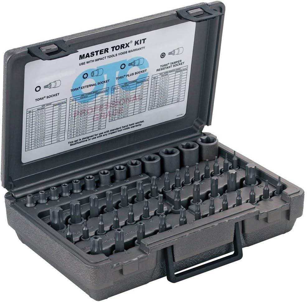 Gorgeous OTC 5900A-Plus 52 Piece low-pricing Master Torx Set Drive Square