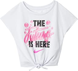 The Future Is Here Tie-Front Knot Top (Toddler)
