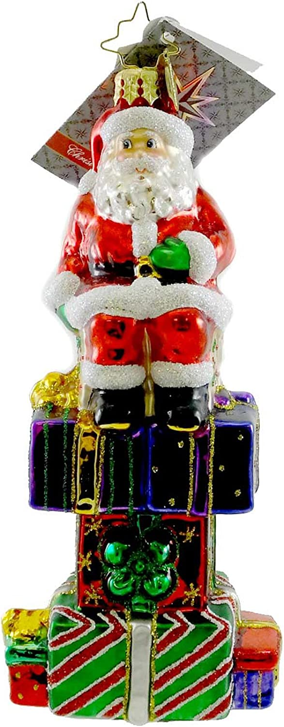 Christopher Radko Gifted Some reservation Fellow Glass Ornament Christmas Max 85% OFF Blown