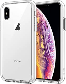 JETech Funda para Apple iPhone XS y iPhone X Carcasa Anti-Choques y Anti-Arañazos transparente