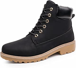Meetloveyou New Men Boots Fashion Martin Boots Snow Boots Outdoor Casual Timber Boots Lover Autumn Winter Shoes ST01