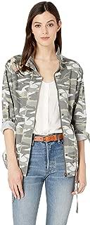 embroidered khaki jacket womens