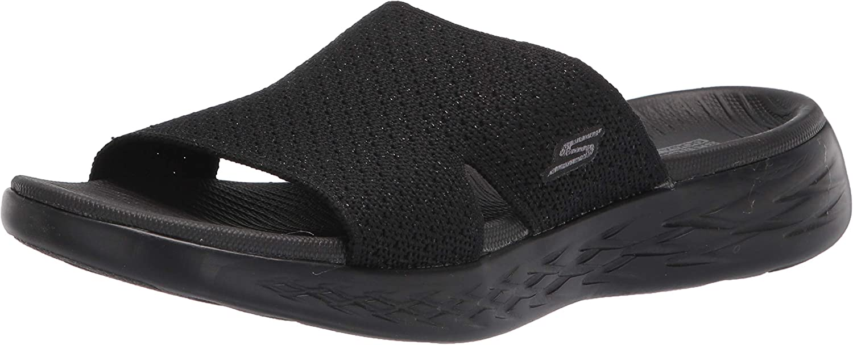 Skechers On-The-Go 600 Stretch Knit Slide