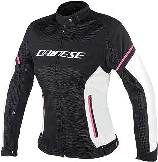 Dainese Women's Air Frame D1 Lady Tex Jacket Black/Grey/Fuschia 44