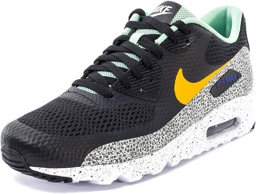 Nike Air Max 90 Ultra Essential, Chaussures de Running Homme, Noir ...