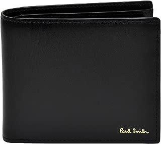 [名入れ可] ポールスミス Paul Smith 正規品 本革 シティエンボス 二つ折り財布 ショップバッグ付 ウォレット
