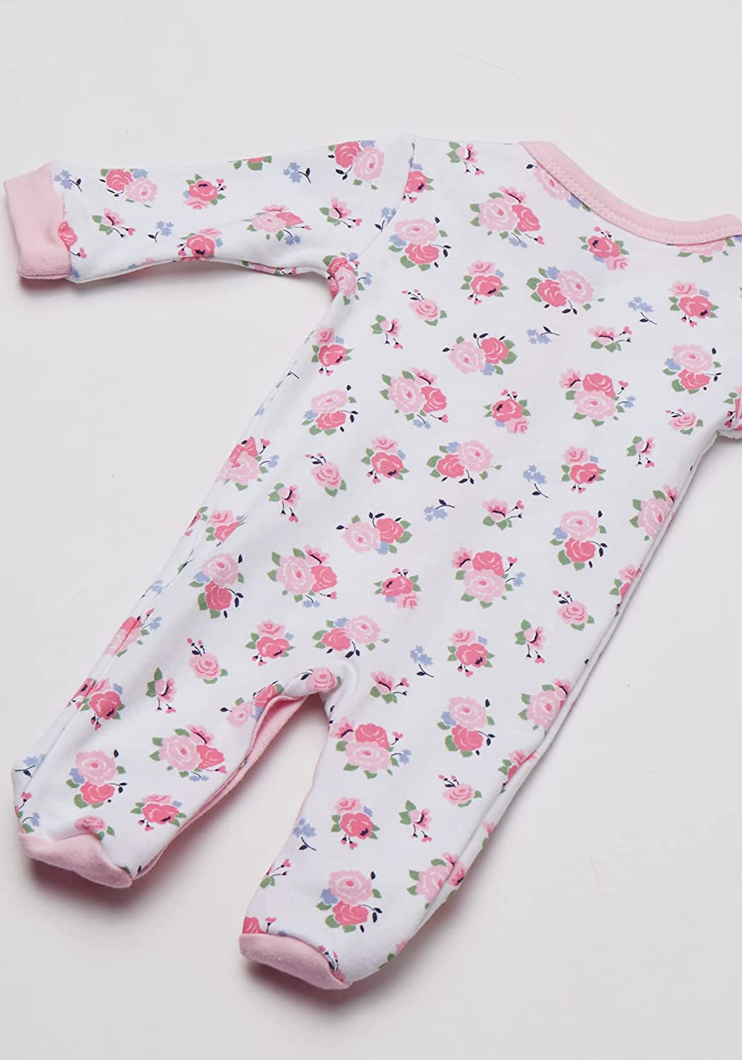 Luvable Friends Unisex Baby Cotton Preemie Sleep and Play and Cap