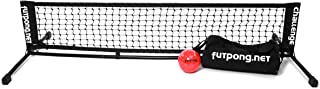 Futpong Pro Set - Portable Skill Development Game, Includes 6' Wide net, Official Ball, Carrying Bag & Rules
