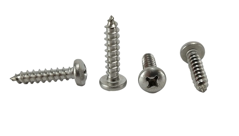 1//2 to 2 Lengths in Listing #8 x 1-1//2 Stainless Philips Pan Head Sheetmetal Screw #8 x 1-1//2 inch 100 Sheet Metal Screws