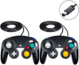 Gamecube Controller,SogYupk Wired Controllers Classic Gamepad 2 Pack Joystick for..
