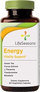 Sponsored Ad - LifeSeasons - Energy - Energy Booster for Mental and Physical Strength - No Jitters - Support Stamina - Con...