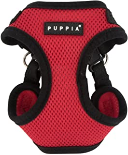 Puppia Soft Dog C Harness, Red, Large