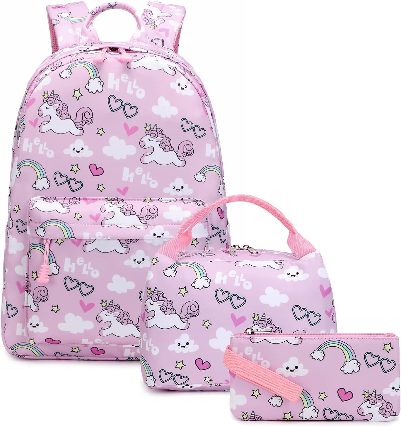 Kids Luxury Max 47% OFF Backpack For Girls BookBag Toddler Unicorn School