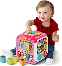 VTech Sort and Discovery Activity Cube (Frustration Free Packaging), Pink