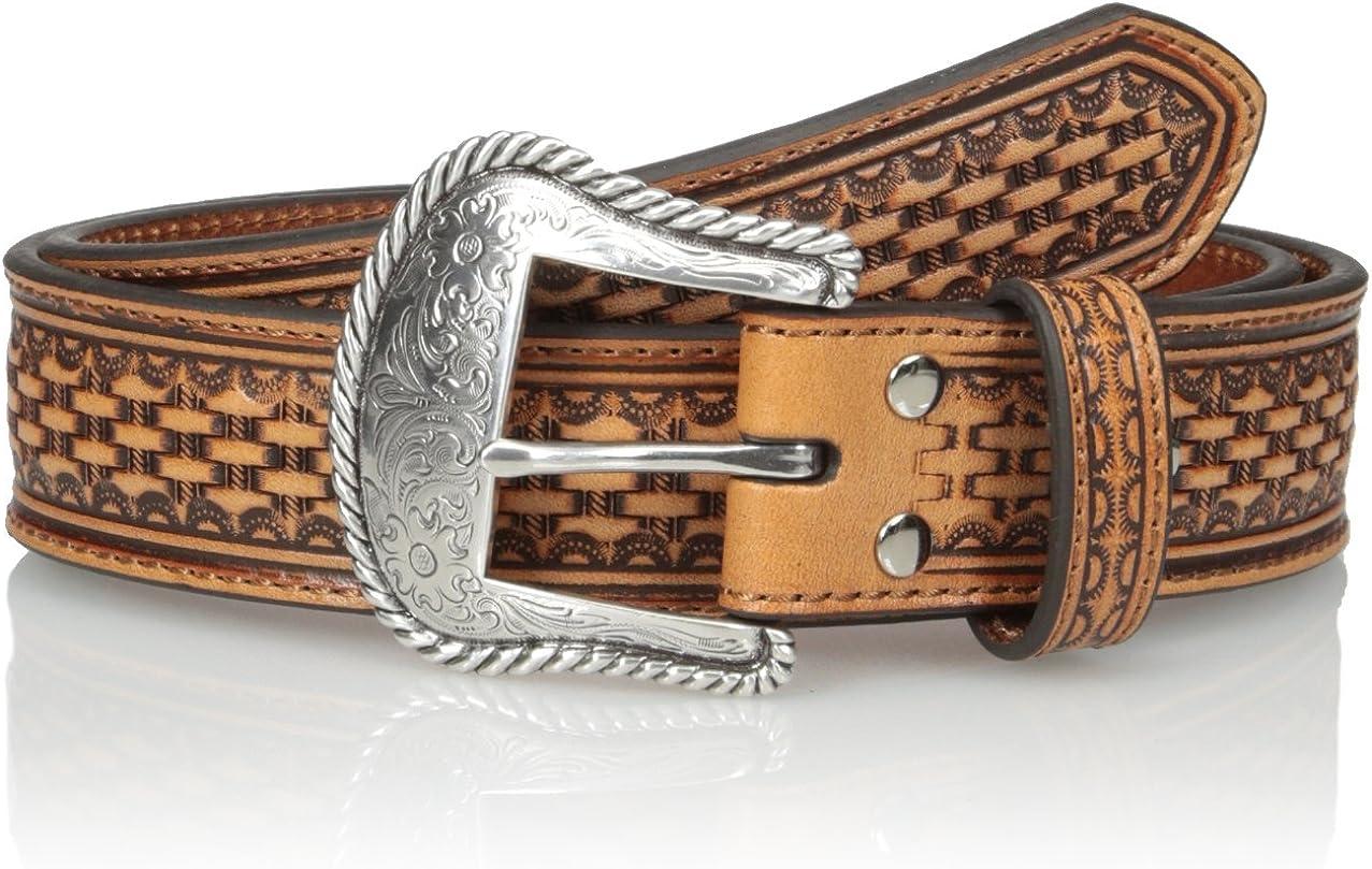 Nocona In High quality stock Men's Basic Belt Basket-Weave Brown