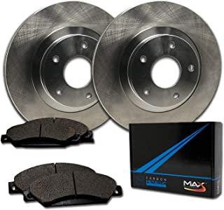 Max Brakes Front Premium Brake Kit [ OE Series Rotors + Metallic Pads ] TA115041 |