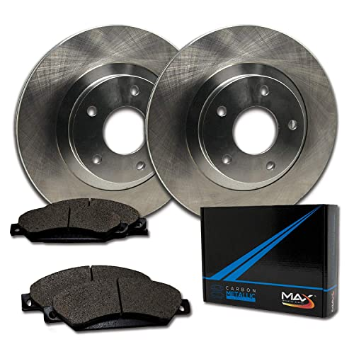Front /& Rear Disc Brake Rotor Kit Set for Elantra Veloster Forte Soul New