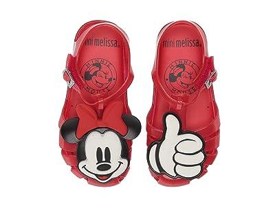 Mini Melissa Mini Aranha + Mickey (Toddler/Little Kid) (Red Jelly) Girls Shoes