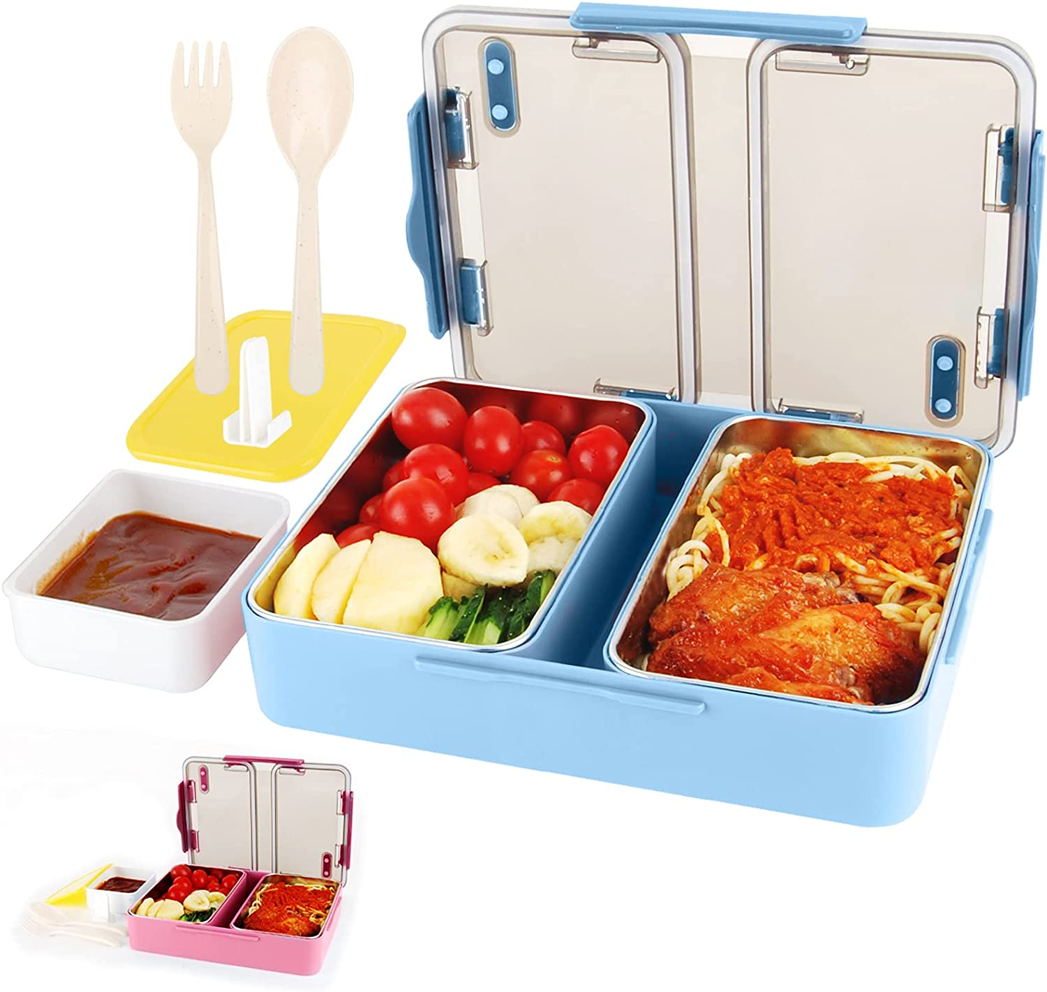 Bento Box Max 51% OFF Genteen On the Go Stai 2 High with Capacity Lunch OFFicial store