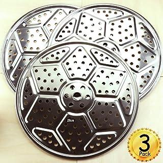 "YG_Oline 3 Pcs 10.5"" Stainless Steel Pressure Cooker Canning Racks, Canning Racks for Steam Canner"