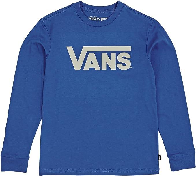 Vans - Maglia a manica lunga - ragazzo Blue 11-12 Anni : Amazon.it ...
