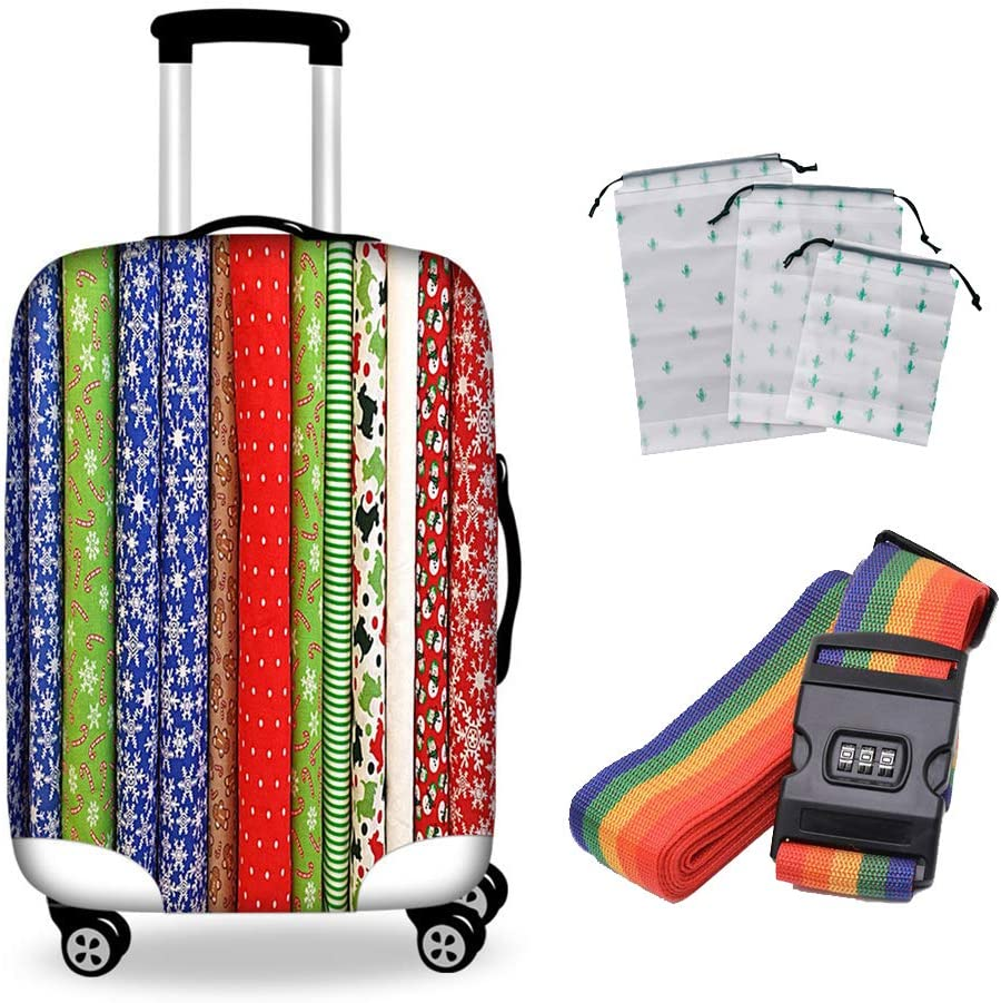 Selling Q-YR 18-28 Inch Suitcase Easy-to-use Cover Breathable Elastic Shockproof Pro