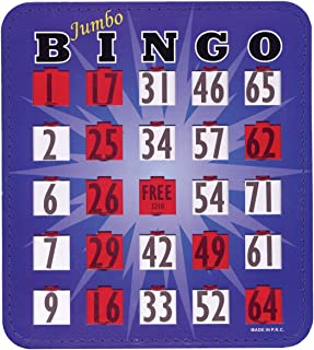 bingo game for visually impaired