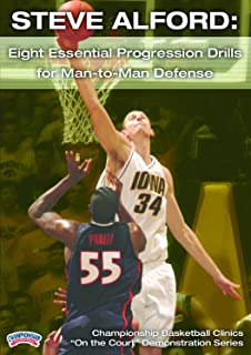 Championship Productions Steve Alford: Eight Essential Progression Drills for Man-to-Man Defense DVD