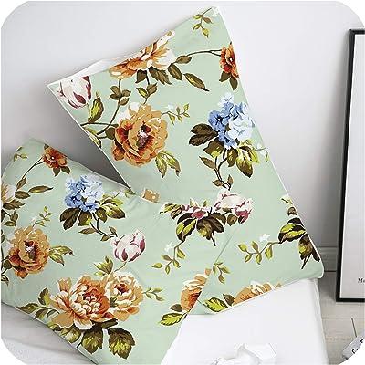 Amazon.com: CLveg Dry Seasoning Pillowcase Soft Cotton Sofa ...