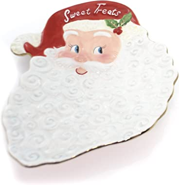 Christopher Radko Letters to Santa Platter, Ceramic, Christmas Home Holidays Plate, Decorative Platters, 3011396