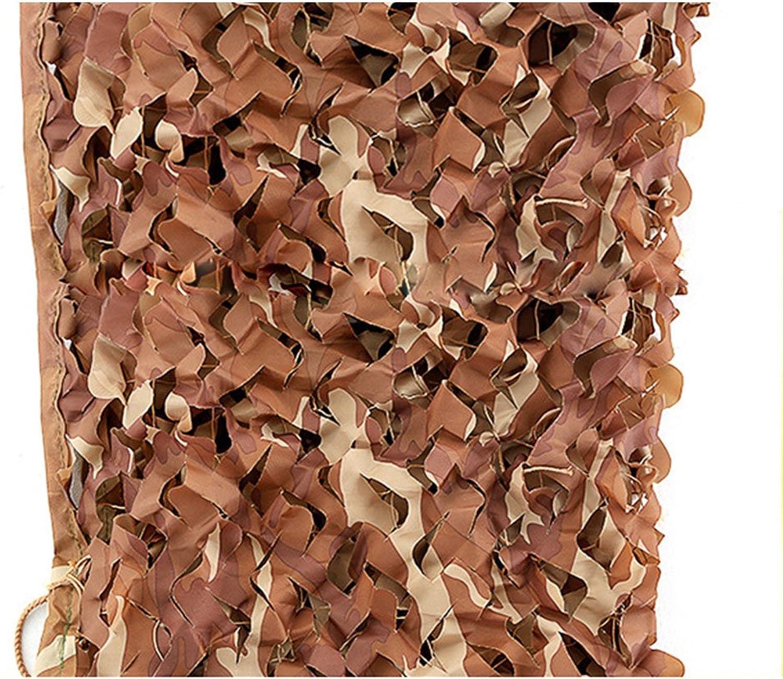 LQQFF Sunshade net, Sun Predection Desert Camouflage Cloth Network Green Plant Garden Shade net Outdoor Camping Jungle Camouflage net Decoration net Portable Parasol