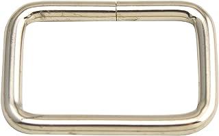120Pz Fibbie Metallo Accessori 25mm 50pz Anello D 120pcs argento 50pz Tri Glide 20pz Ganci Girevole a Moschettone per Cucito Tracolla Zaino Borse Craft Borse Zaino Cucito Fai da Te