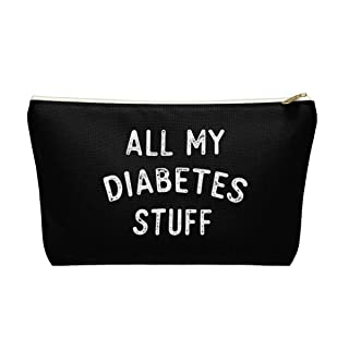 All My Diabetes Stuff Pouch Bag (Black)