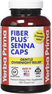 Yerba Prima Fiber Plus Senna Caps - 180 Capsules