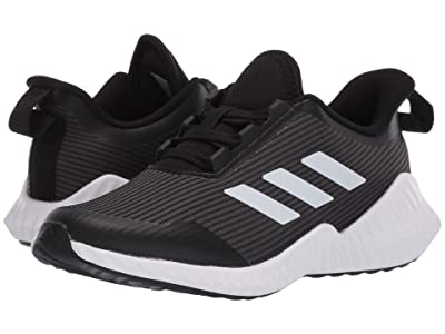 adidas Kids FortaRun (Little Kid/Big Kid) (Black/White/Grey) Boys Shoes