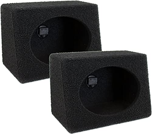 discount Q Power QBTW6X9 Single 6 x outlet sale 9 Inches Speaker Boxes with Durable new arrival Bed Liner Spray online