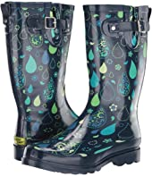 Pouring Paisley Rain Boot