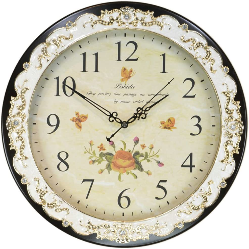 SX-ZZJ-guazhong Vintage Wall Clock Bombing new work Solid 3D Wood Mu Easy-to-use Dimensional