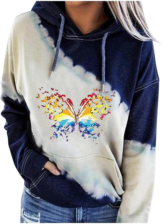 felwors Sweatshirt for Women, Womens Hooded Sweatshirts Pullover Halloween Long Sleeve Colorblock Casual Sweater Tops