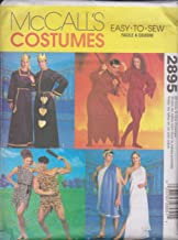 McCall's 2895 Sewing Pattern Costumes Roman Cave King Queen Devils Bust / Chest 29 1/2 - 44