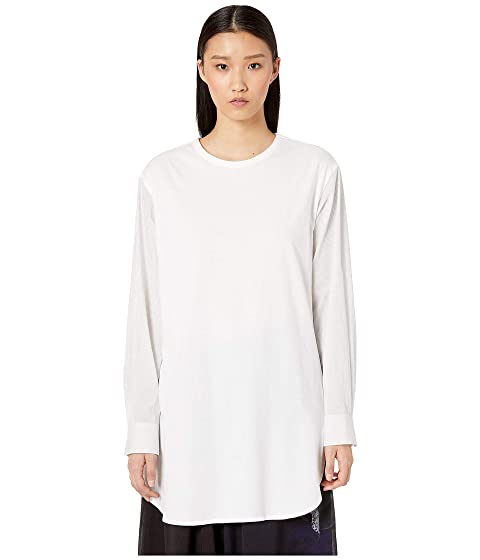 Y's by Yohji Yamamoto O-C/S X Woven Long Sleeve Blouse
