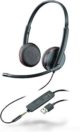 Plantronics Blackwire C3220 - Cuffie stereo USB, colore: Nero - Trova i prezzi più bassi