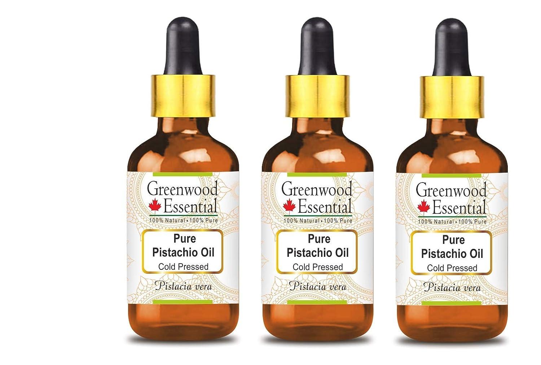 Greenwood Essential Pure Pistachio Oil (Pistacia vera) with Glas