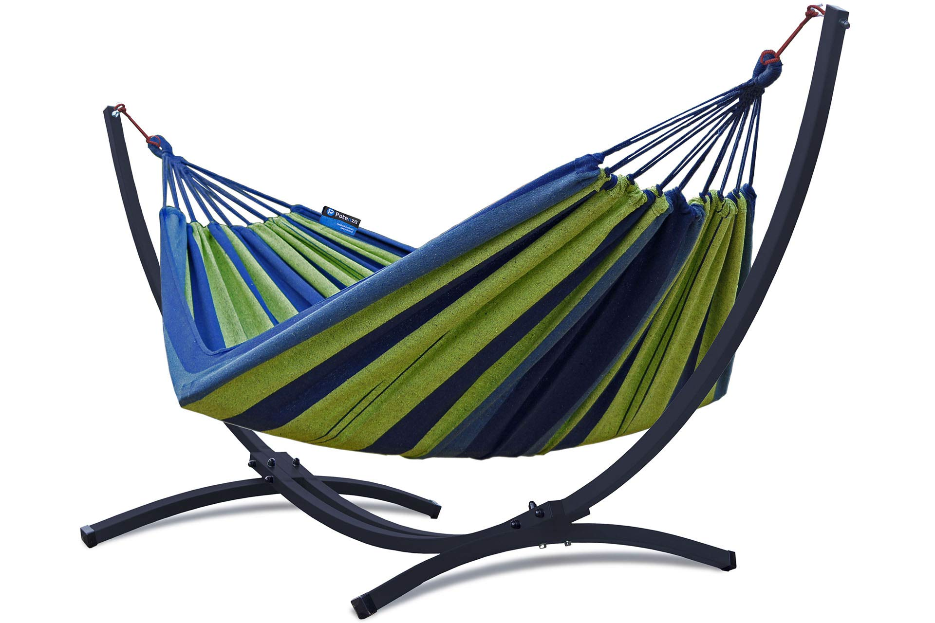 Colore Casuale ULOOIE Outdoor Amaca in Rete in Nylon ad Alta Resistenza Camping Sleeping Lounge Hanging Bed