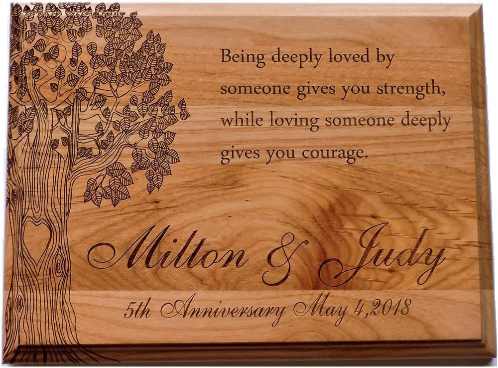 Forever Me Challenge the lowest price Gifts Anniversary Wood Plaque with Max 67% OFF Being Deeply Poem