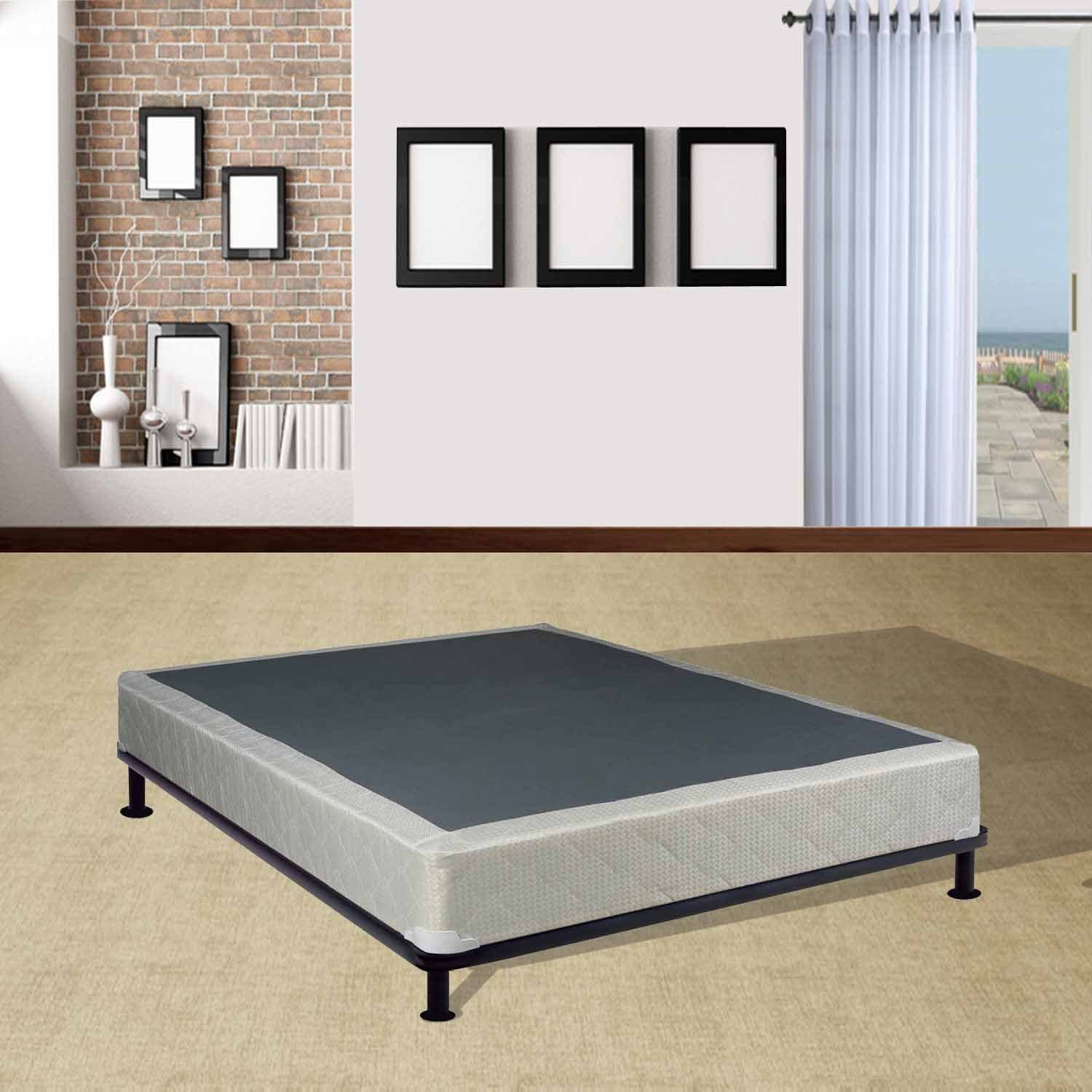 Continental Sleep Fully Assembled Full Box Spring for Mattress, Luxury Collection
