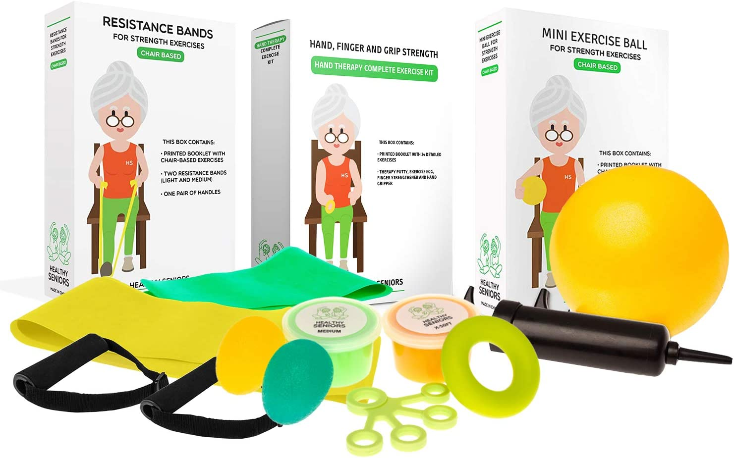 Recommendation Healthy OFFer Seniors Complete Bundle Chair Exercise