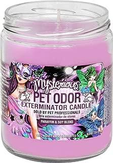 Pet Odor Exterminator Candle, Mysterious,13 oz