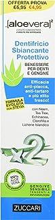 ZUCCARI Aloevera 2 Dentifricio Sbiancante Protettivo - 100 ml