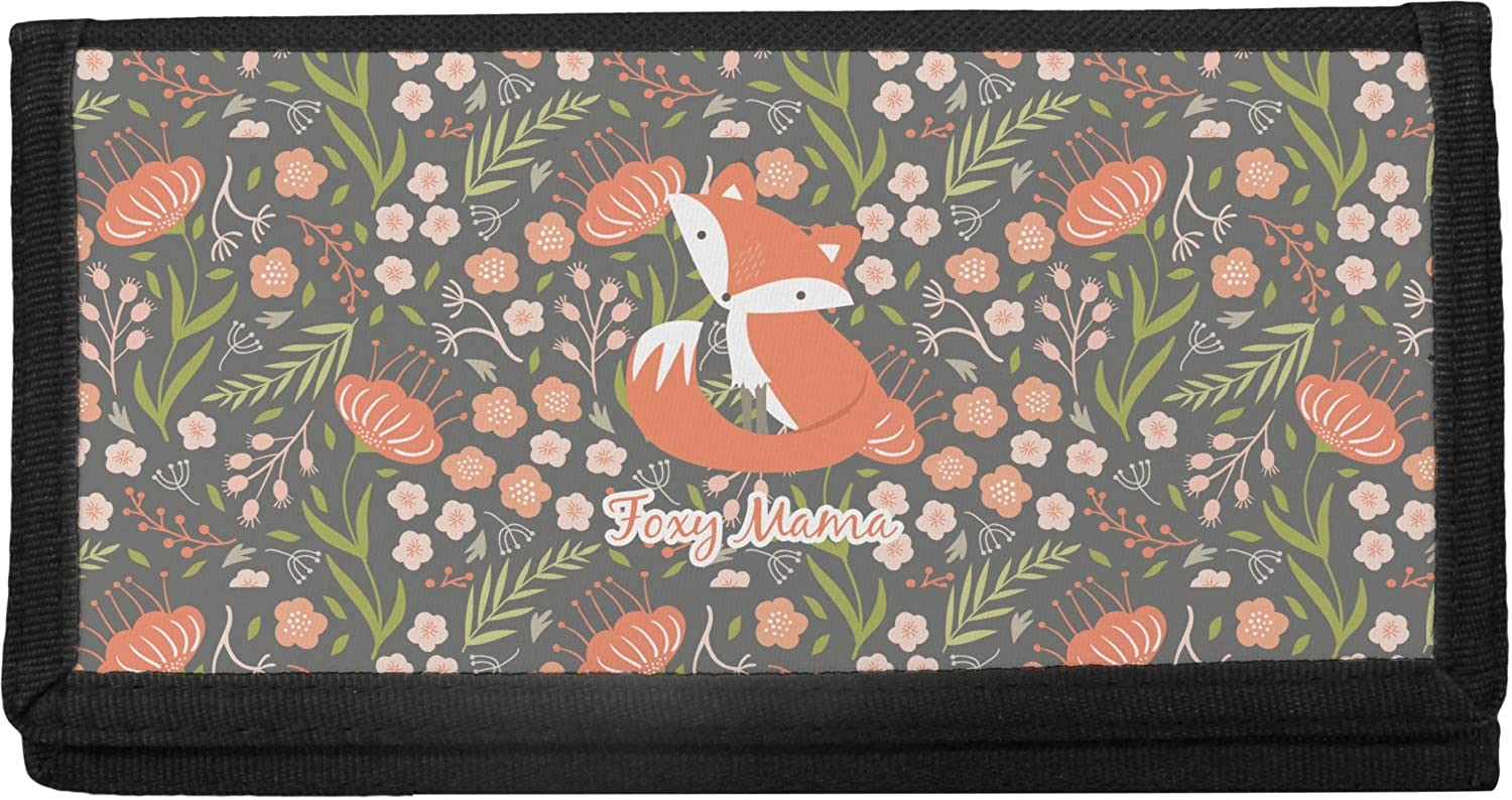 Foxy Mama Canvas At the price of surprise Checkbook Max 84% OFF Cover